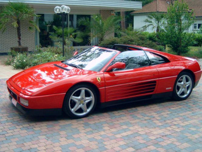 1993 Ferrari 348 TS supercar r wallpaper