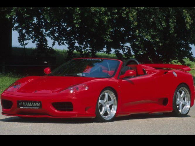 Ferrari 360 Hamann Spyder g wallpaper