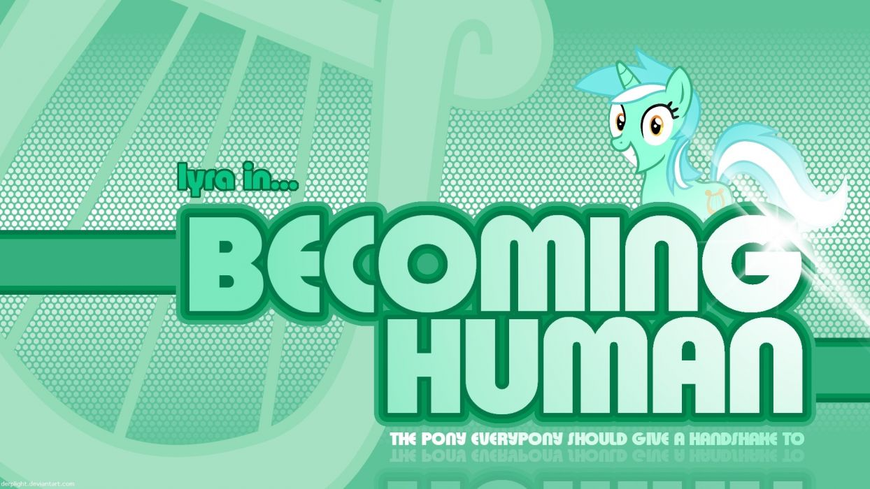 human pony ponies Lyra My Little Pony: Friendship is Magic wallpaper