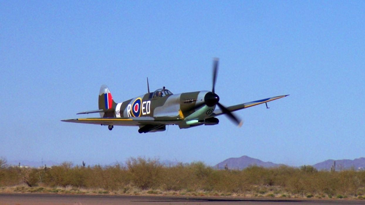 aircraft Supermarine Spitfire Spitfire wallpaper
