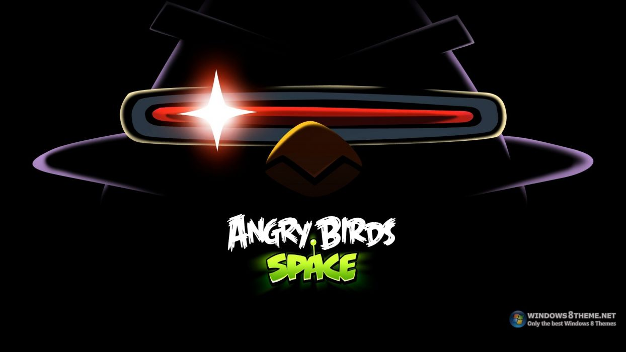Angry Birds Angry Birds Space game wallpaper