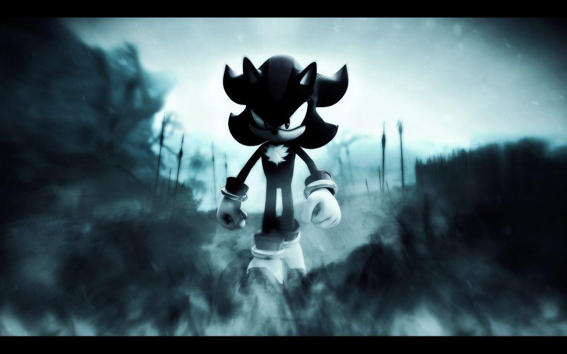 video games Sega Entertainment assassin shadows hedgehogs Sonic wallpaper
