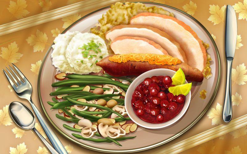 food meal wallpaper