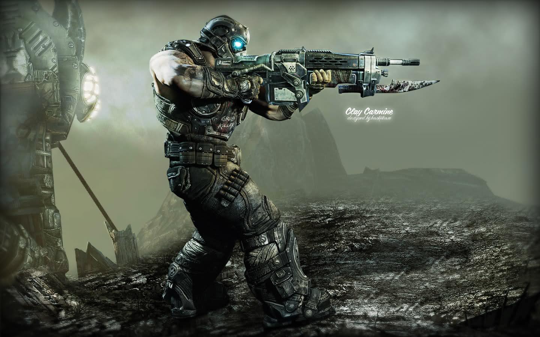 Gears Of Wars 3 Wallpaper: Gears Of War Gears Of War 3 Carmine Wallpaper