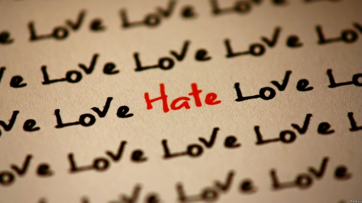 love text quotes hate wallpaper