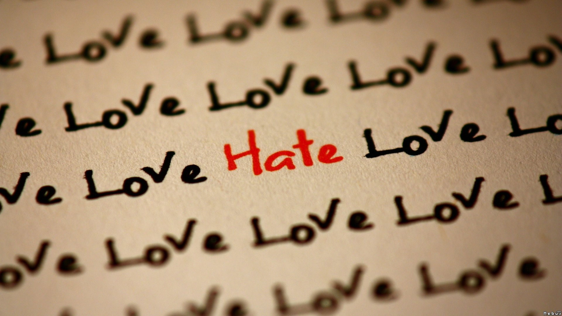 Love And Hate Quotes Love Text Quotes Hate Wallpaper  1920X1080  181713  Wallpaperup