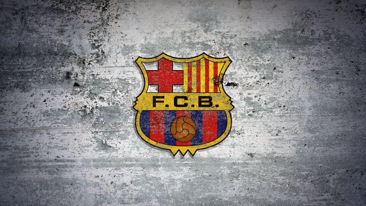 soccer silver logos FC Barcelona wallpaper