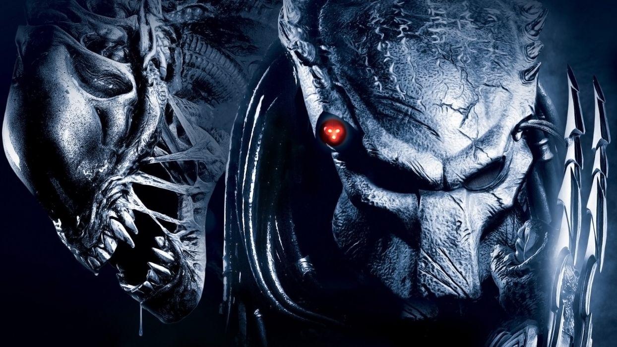 movies predators Aliens wallpaper