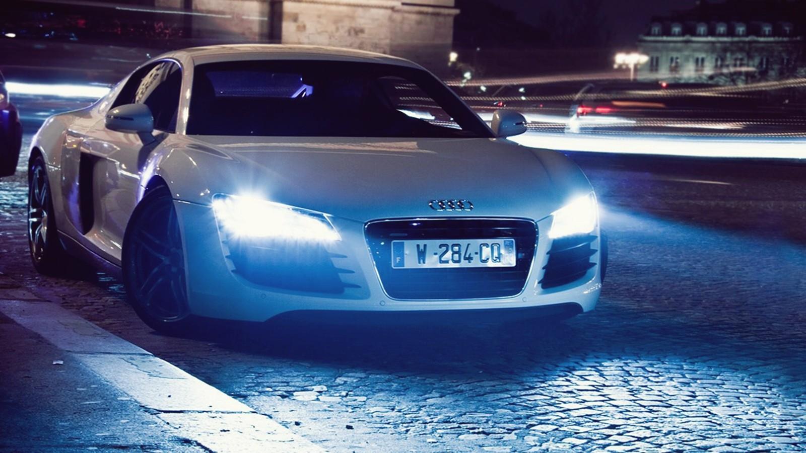 cars headlights at night wallpaper - photo #31