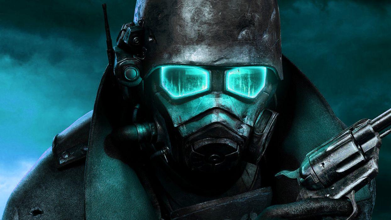Fallout: New Vegas photo manipulation wallpaper