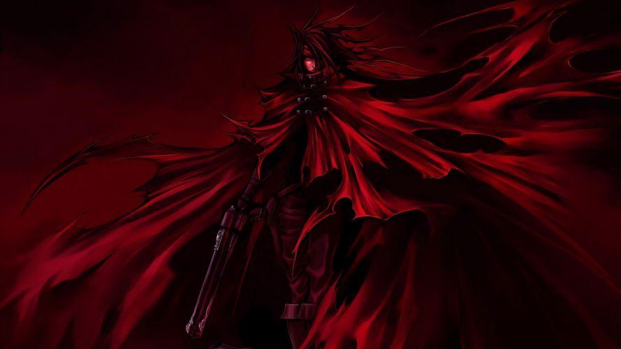 Final Fantasy Final Fantasy VII artwork Vincent Valentine wallpaper