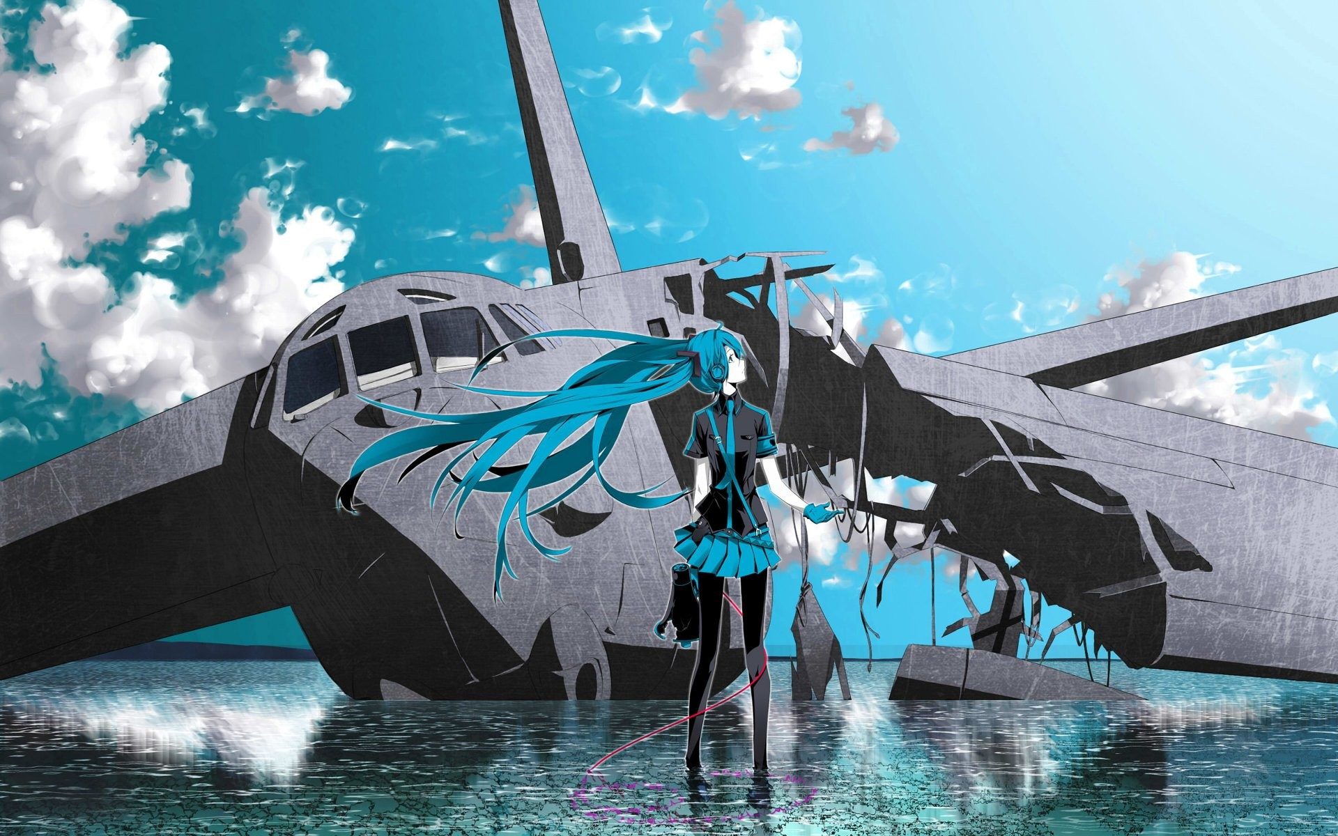 Vocaloid Hatsune Miku Love Is War Wallpaper 1920x1200 181838