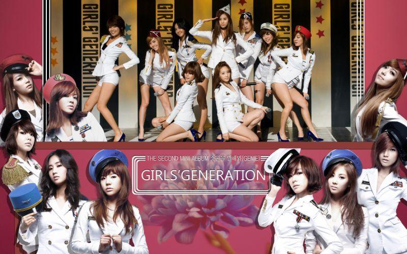 women Girls Generation SNSD celebrity high heels wallpaper