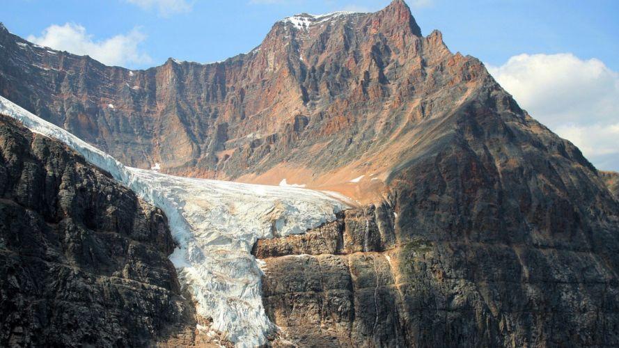 mountains glacier wallpaper