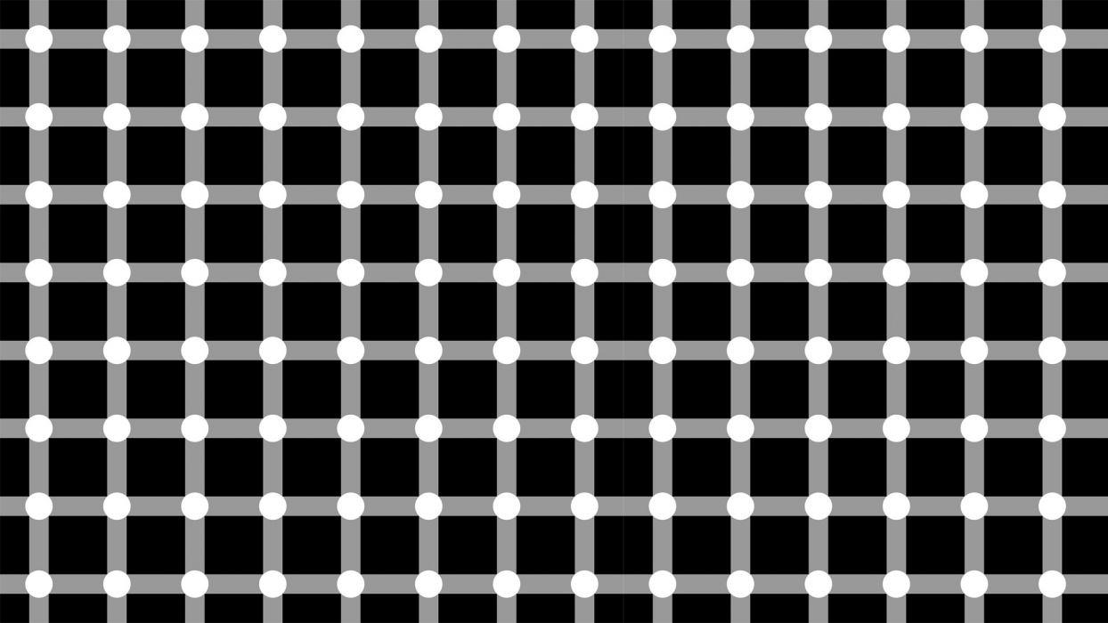 Patterns Textures Grid Illusions Grayscale Optical Illusions
