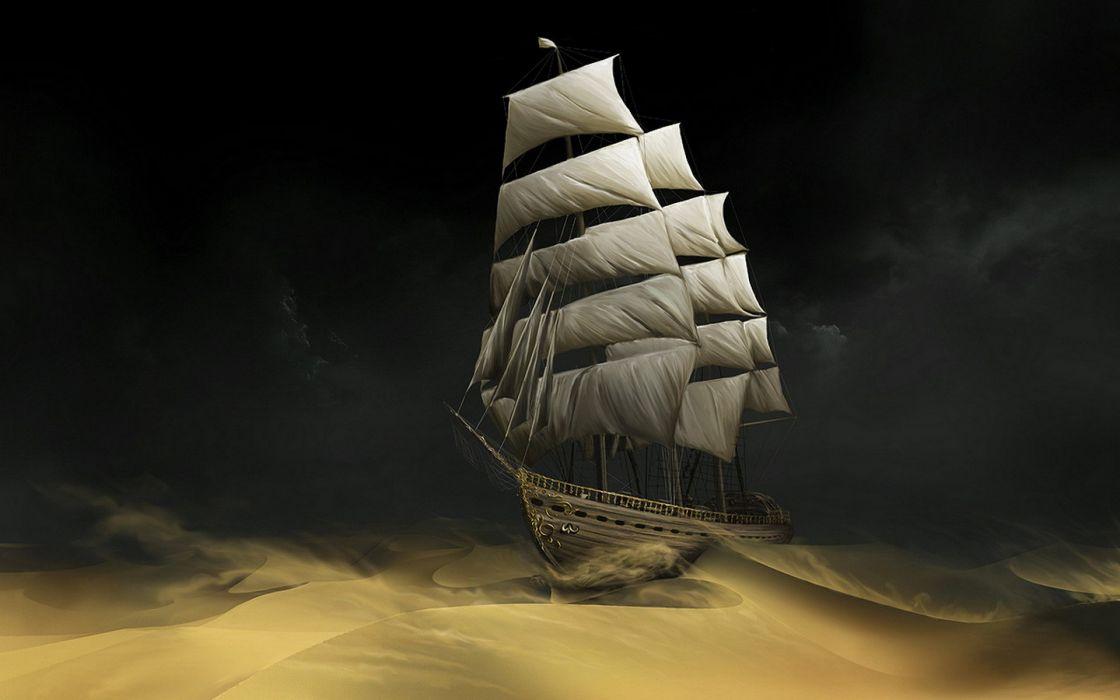 ships sail ship sails The Adventures Of Tintin wallpaper