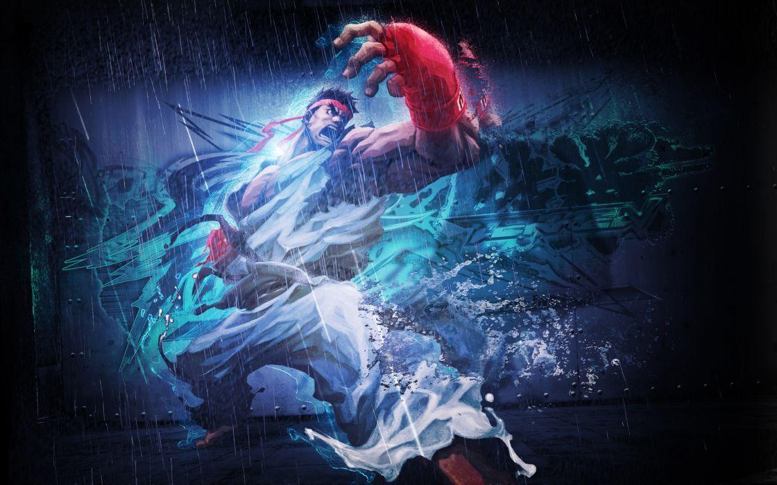 Street Fighter Ryu artwork Bosslogic Street Fighter X Tekken wallpaper