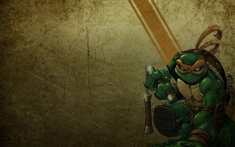 Teenage Mutant Ninja Turtles Mikelangelo wallpaper