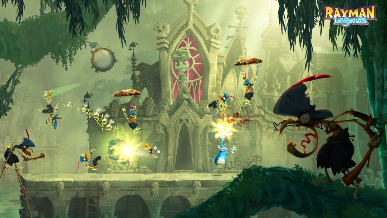 video games screenshots rayman Rayman Legends wallpaper