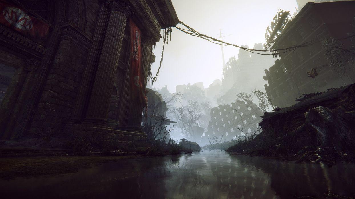 video games futuristic Crysis fantasy art digital art artwork Crysis 3 wallpaper
