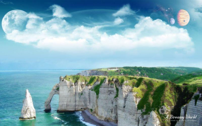 cliffs wallpaper