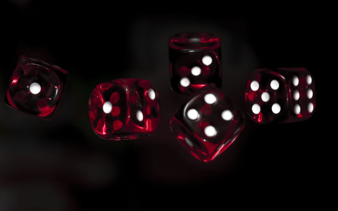 dice game black background close-up  u wallpaper