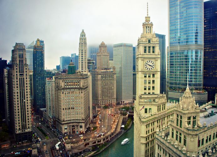usa illinois chicago wallpaper