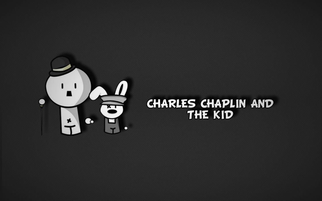 The Kid Charlie Chaplin wallpaper