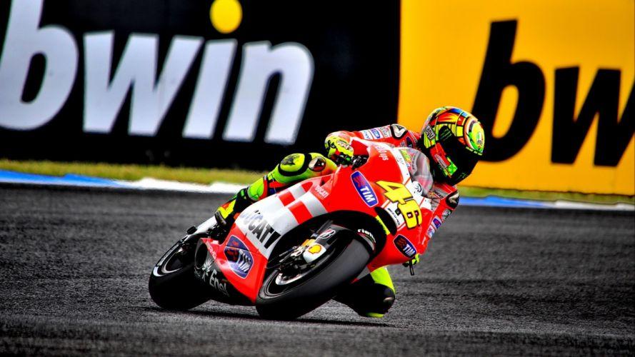 rossi Moto GP motorbikes Valentino Rossi wallpaper