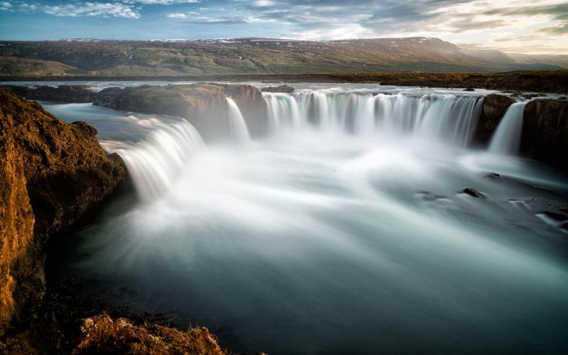 Waterfall Timelapse wallpaper