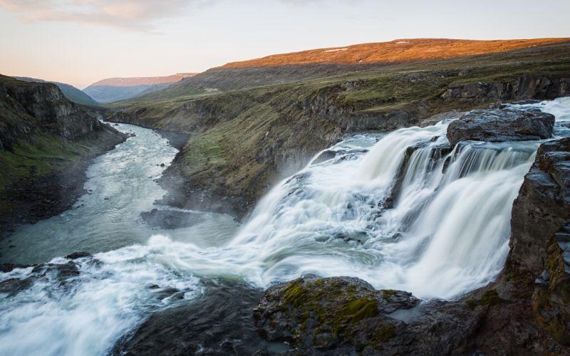 Waterfall River f wallpaper