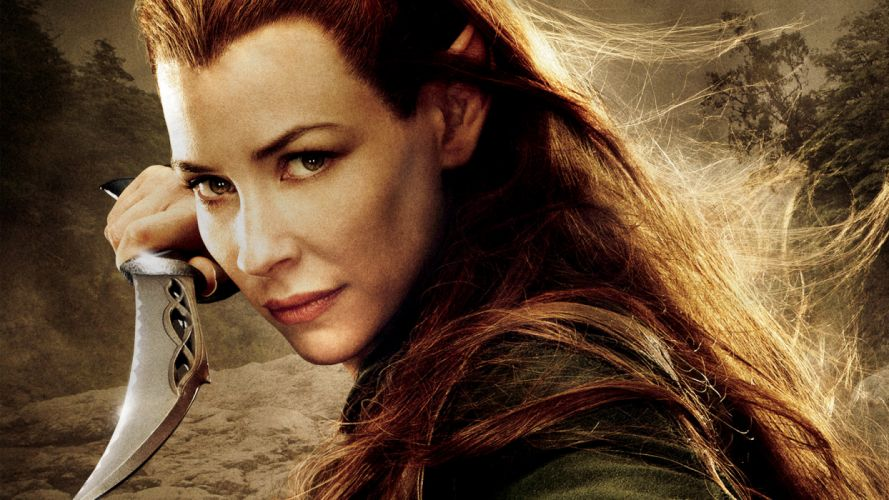 The Desolation of Smaug Tauriel fantasy warrior girl lotr lord rings f wallpaper