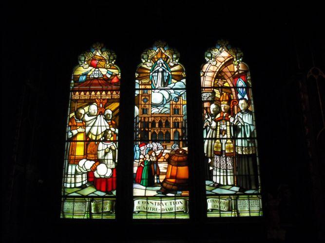 Stained glass art window religion f_JPG wallpaper