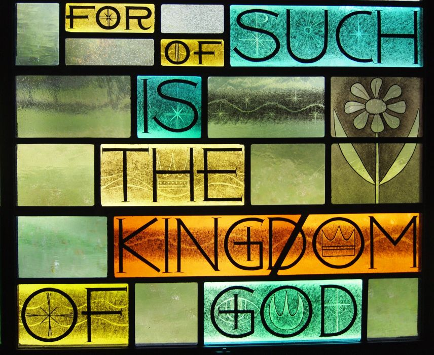 Stained glass art window religion     nv wallpaper