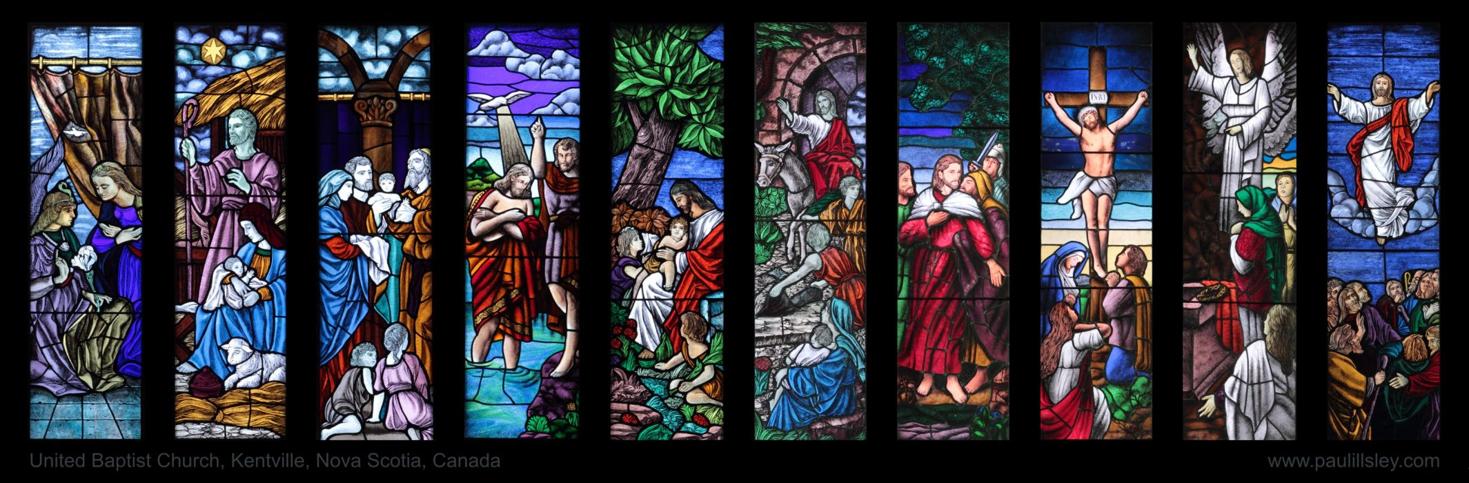 Stained glass art window religion    r wallpaper
