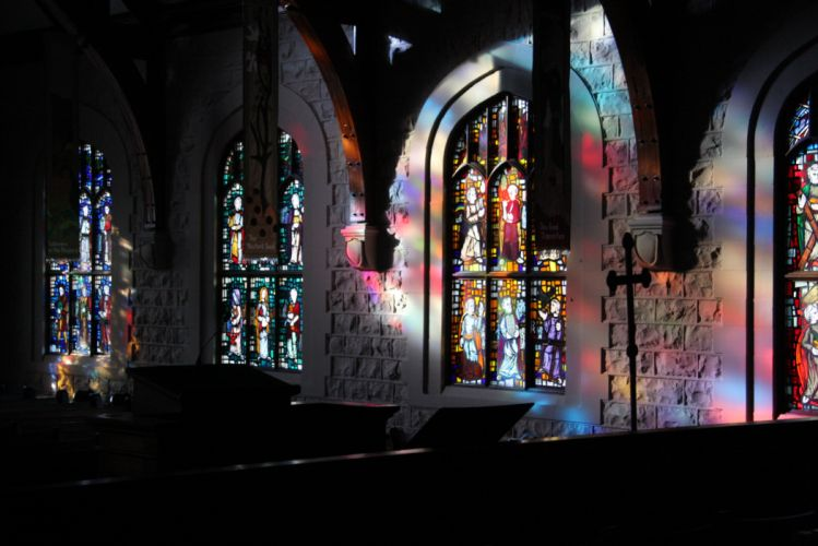 Stained glass art window religion g wallpaper