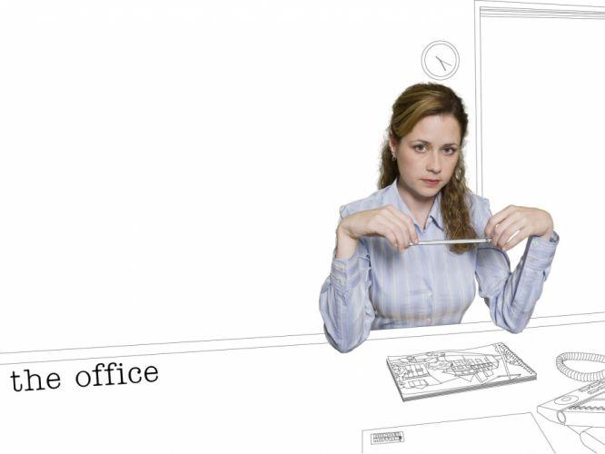 Jenna Fischer The Office wallpaper
