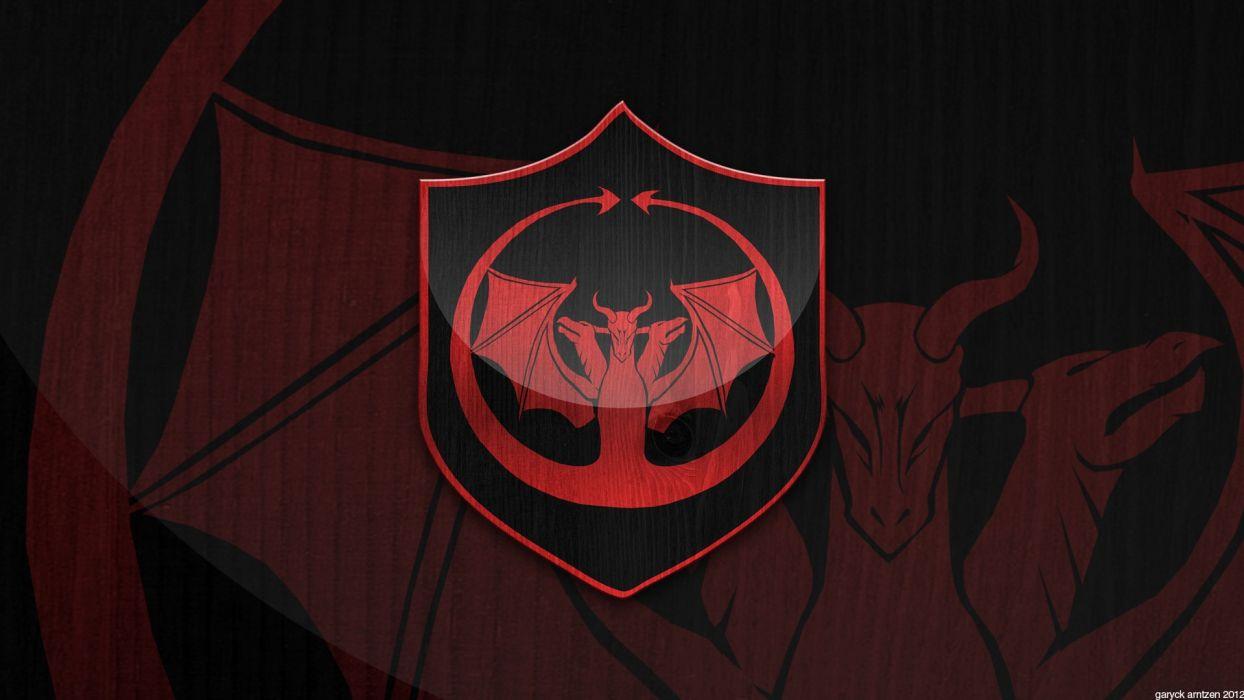 Game Of Thrones Emblems House Targaryen Wallpaper