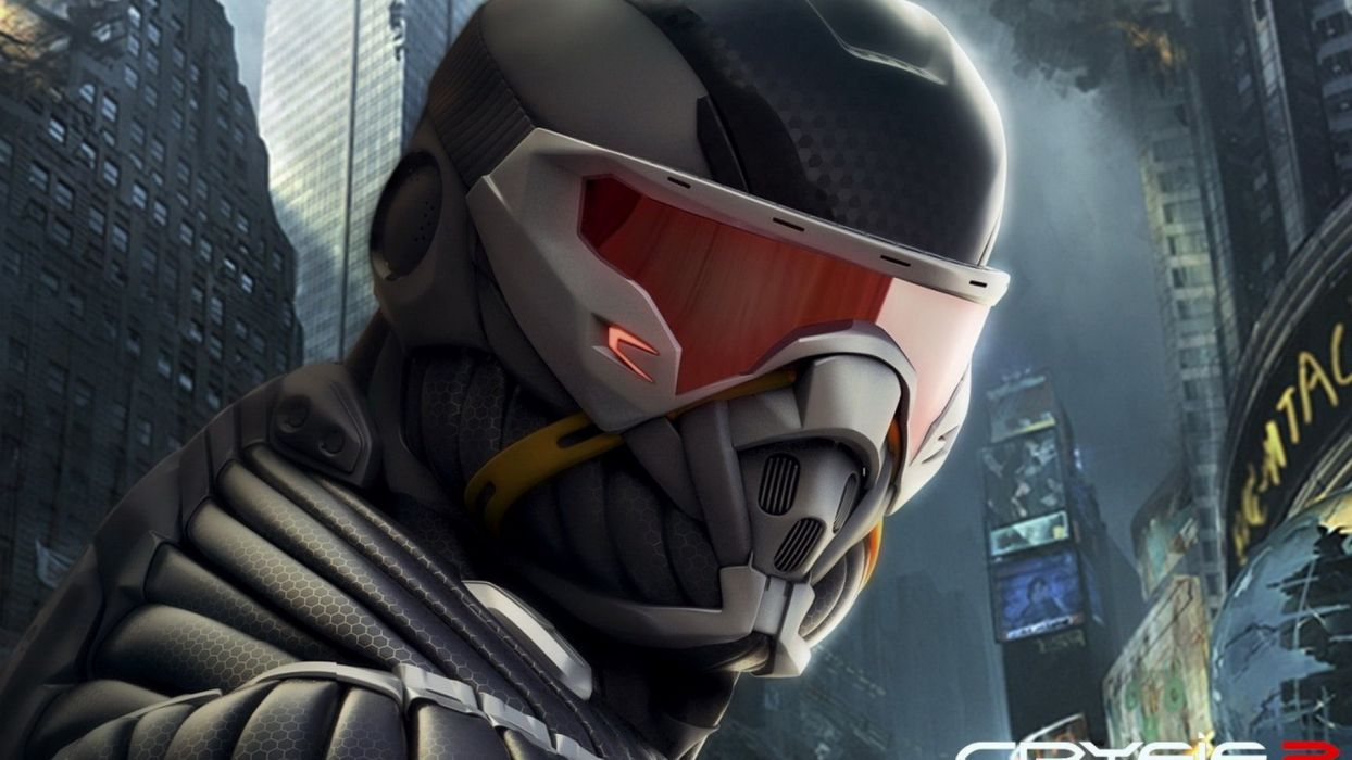 close-up video games Crysis wallpaper