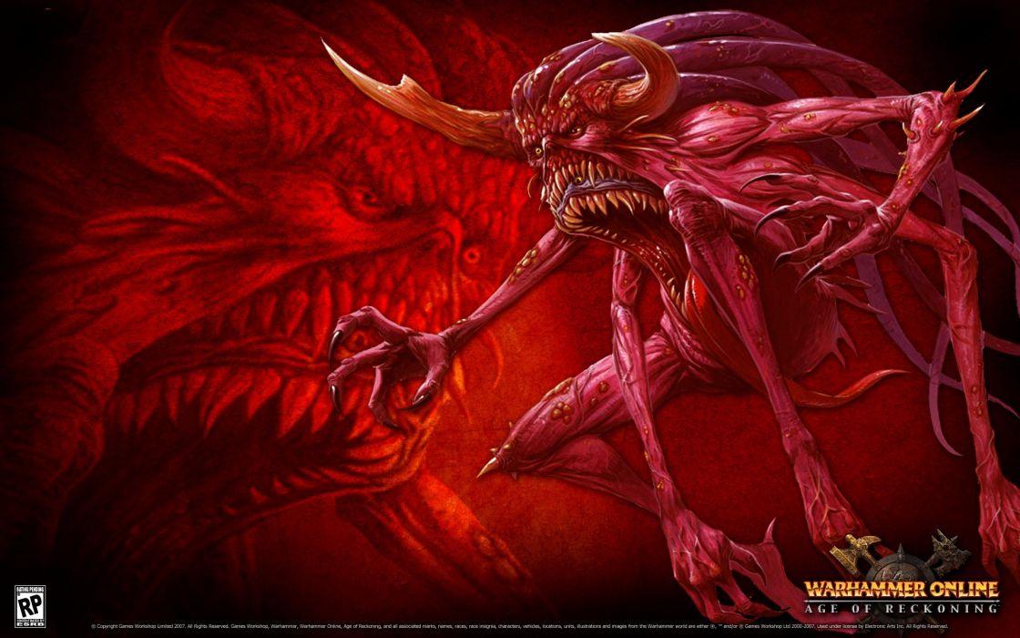 video games Warhammer Online creatures game wallpaper
