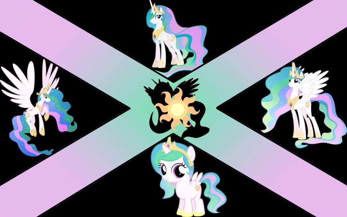 My Little Pony Princess Celestia number My Little Pony: Friendship is Magic wallpaper