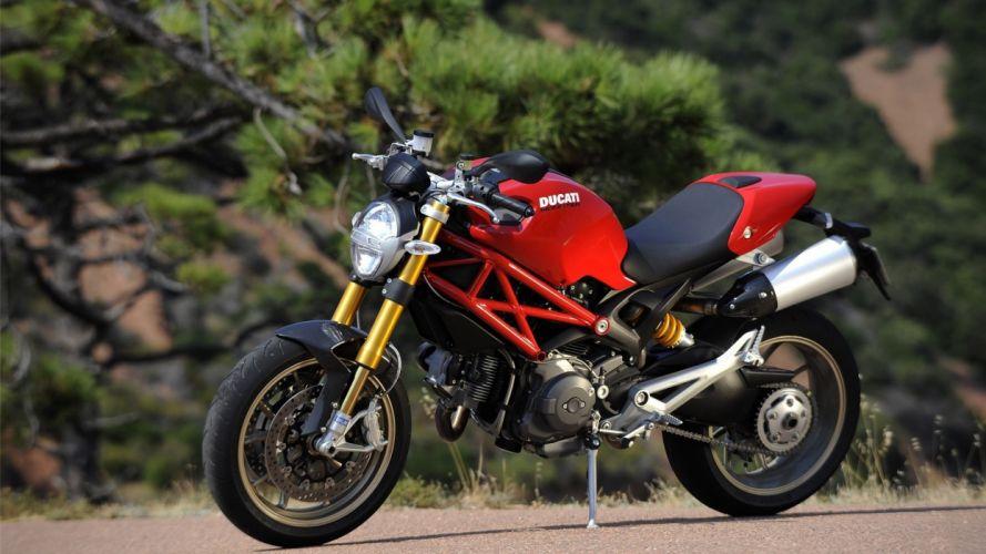 Ducati vehicles motorbikes Ducati Monster wallpaper