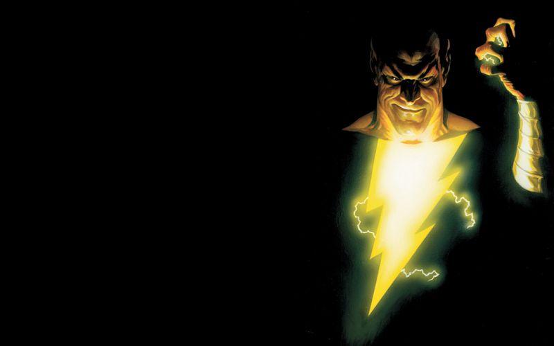 DC Comics Alex Ross Black Adam wallpaper