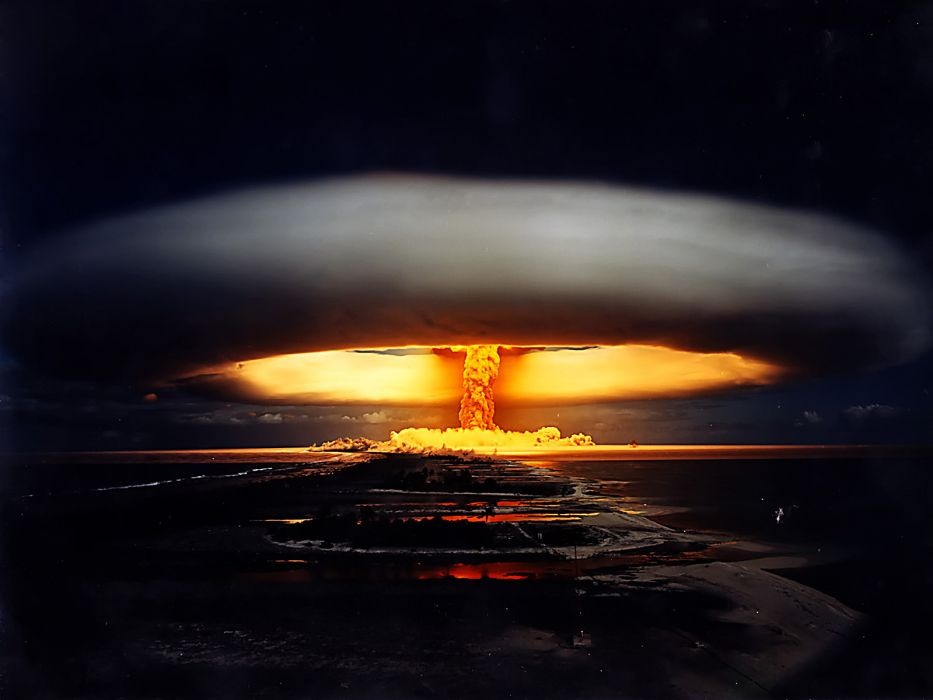 nuclear explosions wallpaper