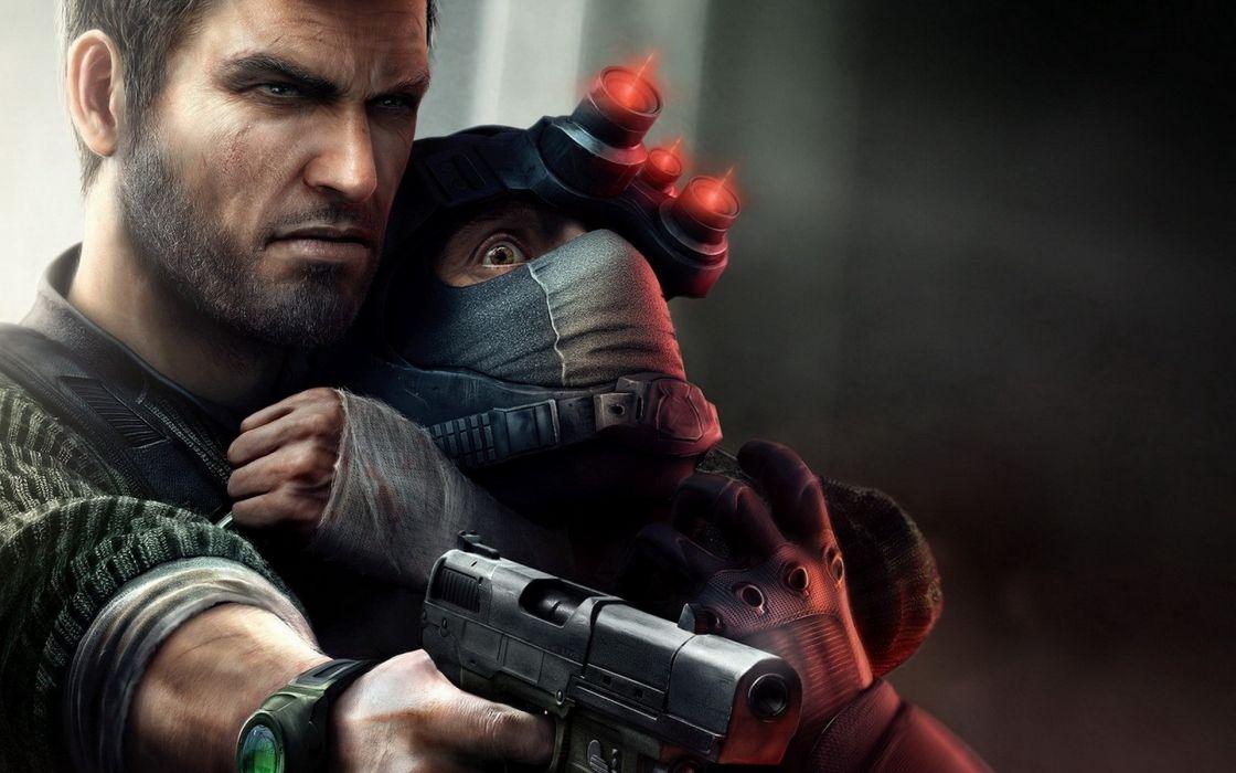 video games Splinter Cell games Splinter Cell Conviction wallpaper