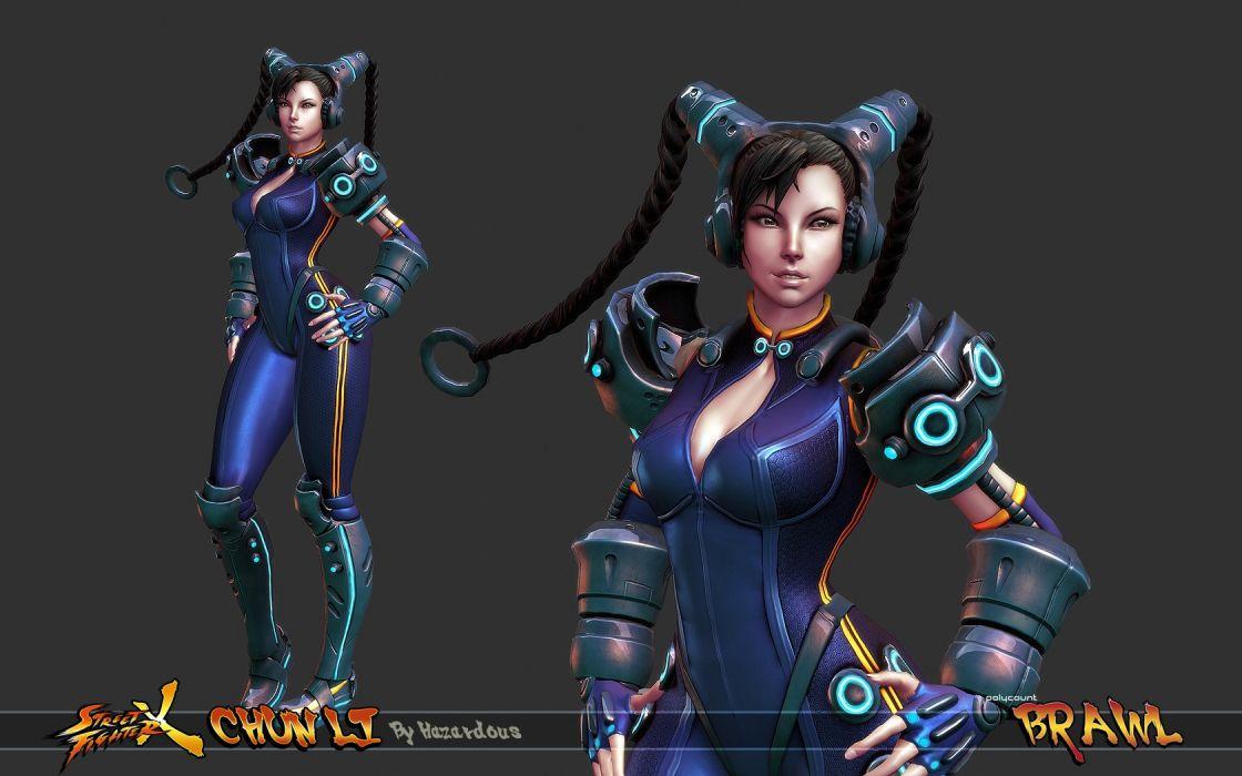 Video Games Futuristic Street Fighter Chun Li Alternative