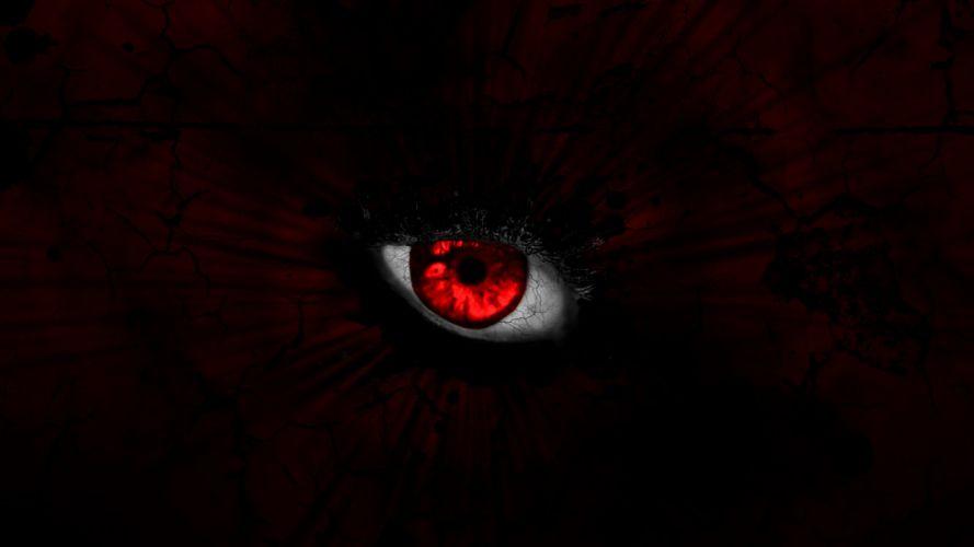 devil anime eye wallpaper