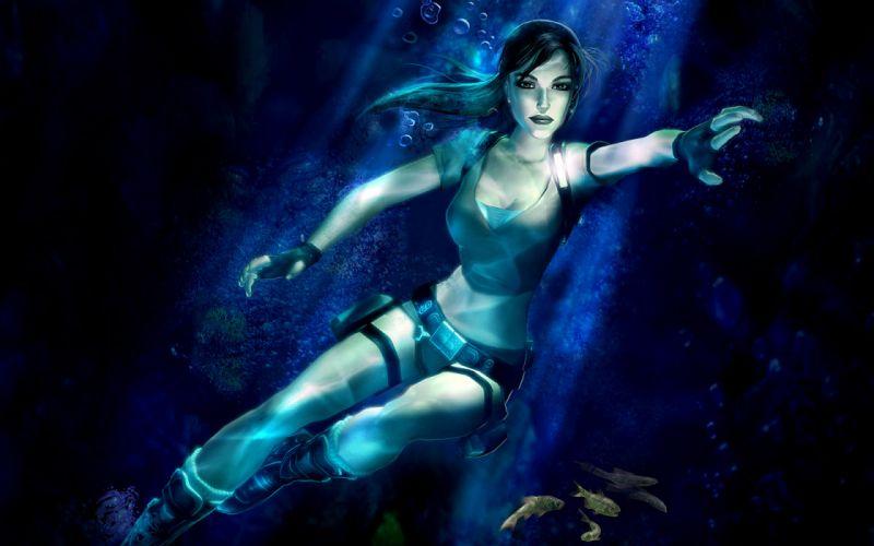 video games Tomb Raider Lara Croft wallpaper