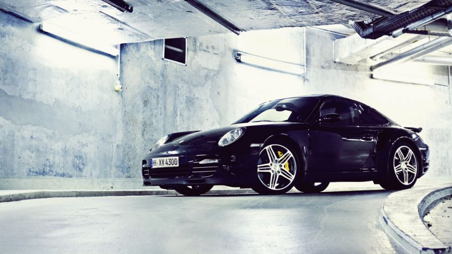black Porsche cars vehicles Porsche 997 exotic cars wallpaper