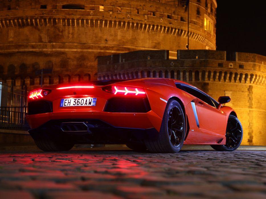 cars Lamborghini Aventador wallpaper